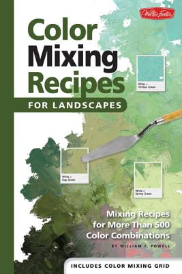 Color Mixing Recipes for Landscapes By Powell, William F.